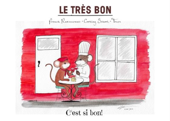 Postcard - Le Tres Bon